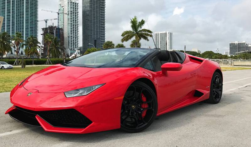 Exotic Car Rental Miami-limoserviceus.com-HURACAN