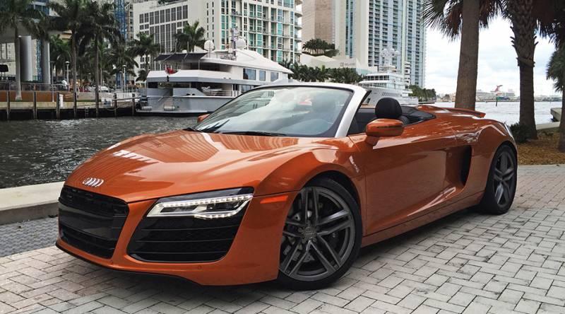Exotic Car Rental Miami-limoserviceus.com-Audi-R8