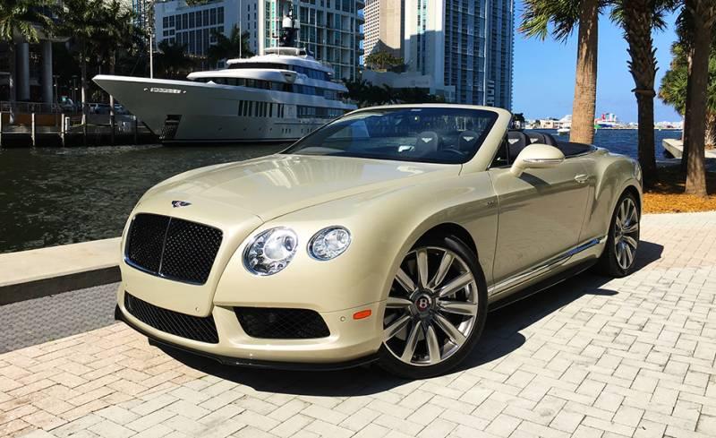 Exotic Car Rental Miami-limoserviceus.com-Bentley-GTC