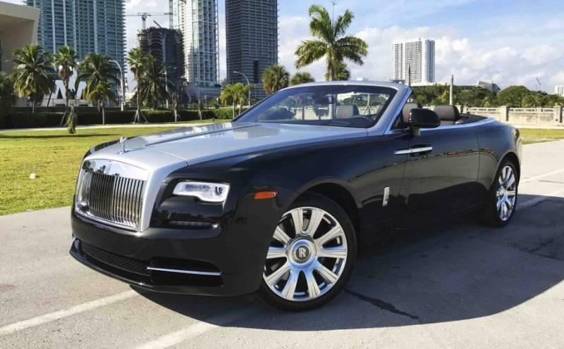 Exotic Car Rental Miami-limoserviceus.com-rolls-royce-dawn